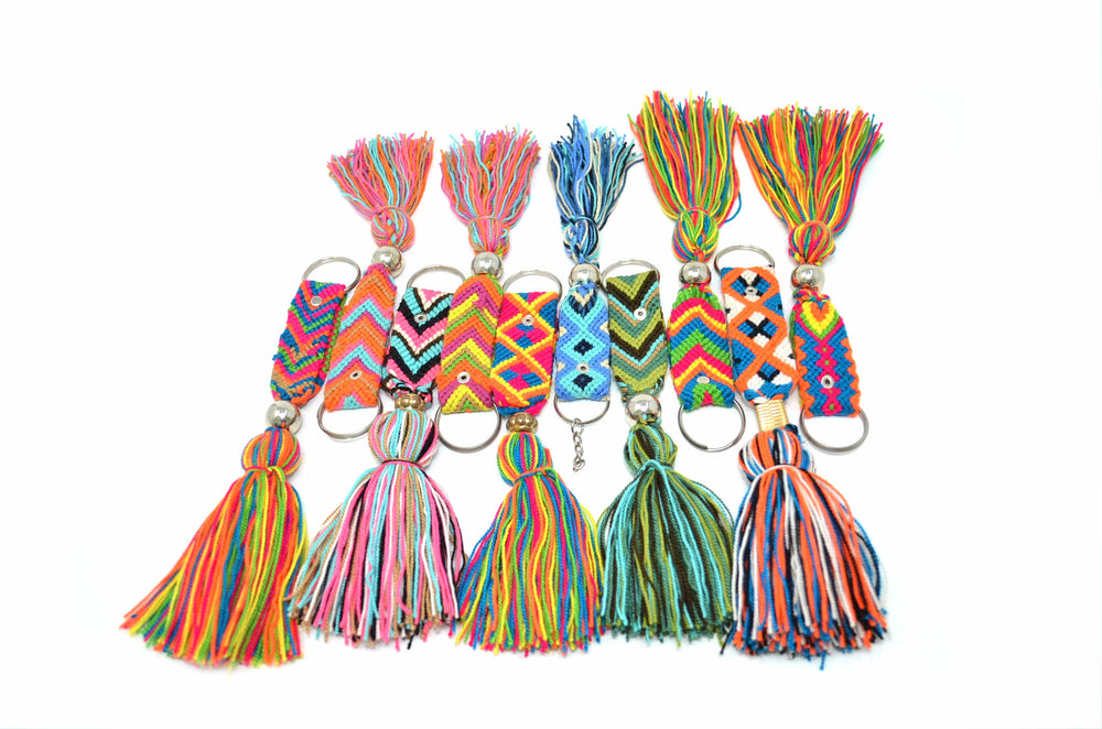 Assorted Wayuu Keychains - kaloboutique