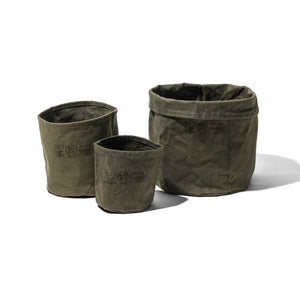 CANVAS POT COVER / Green