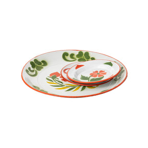 ENAMEL SERVING SET
