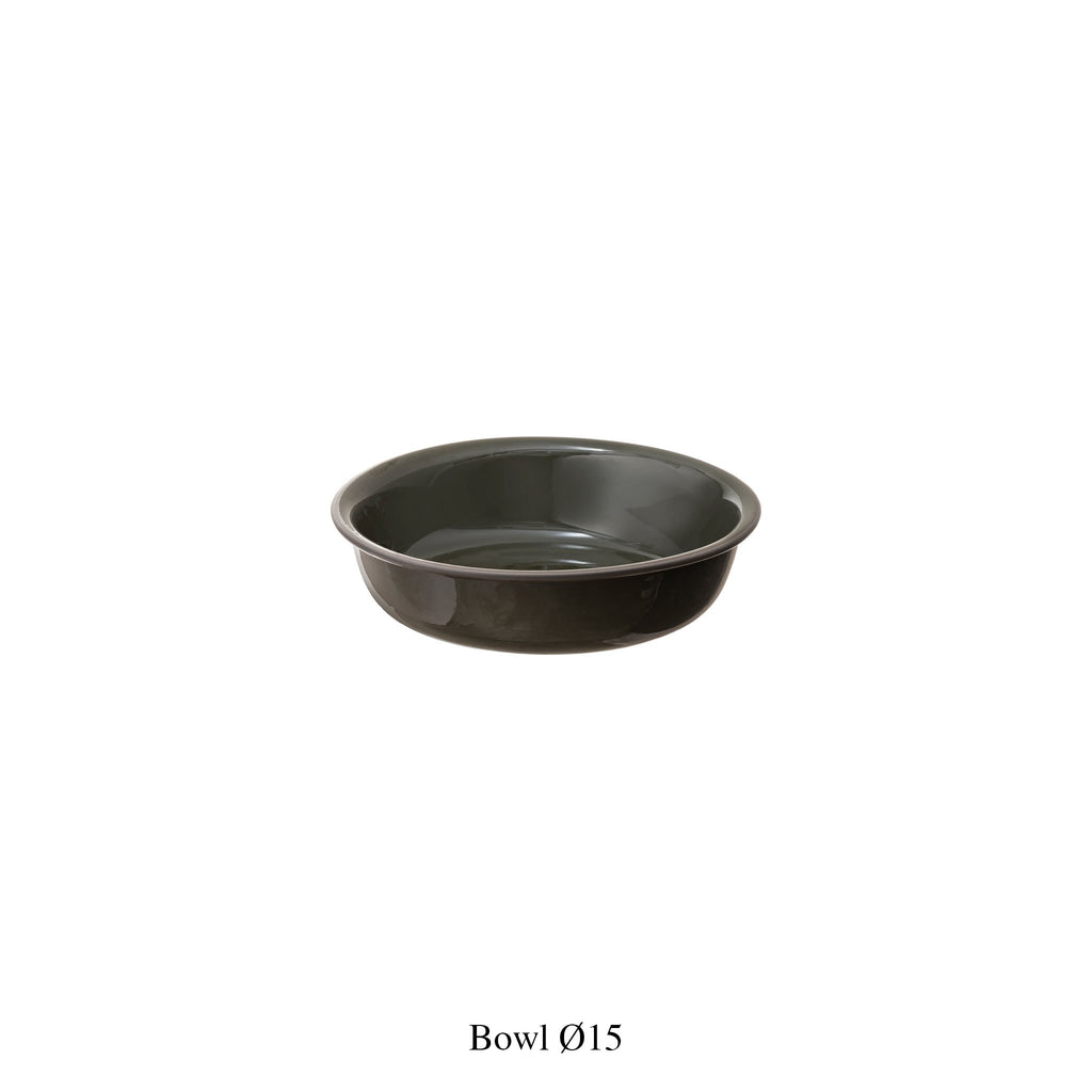 FOREST GREEN DINNERWARE / Bowl
