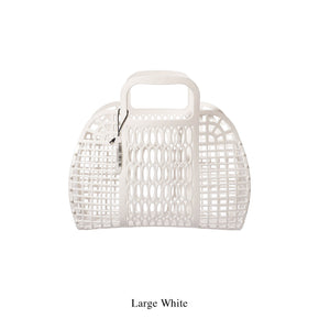 PLASTIC MARKET BAG / White