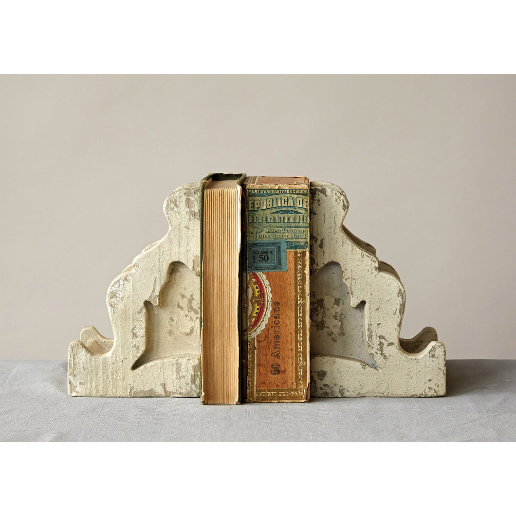 corbel bookends french country decor
