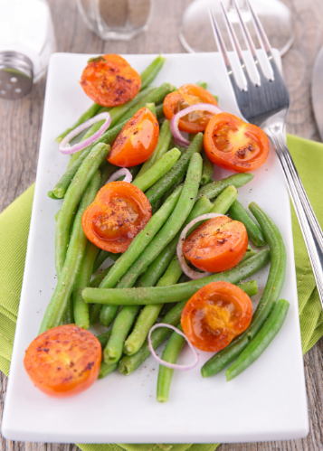 Green Bean & Tomato Summer Salad