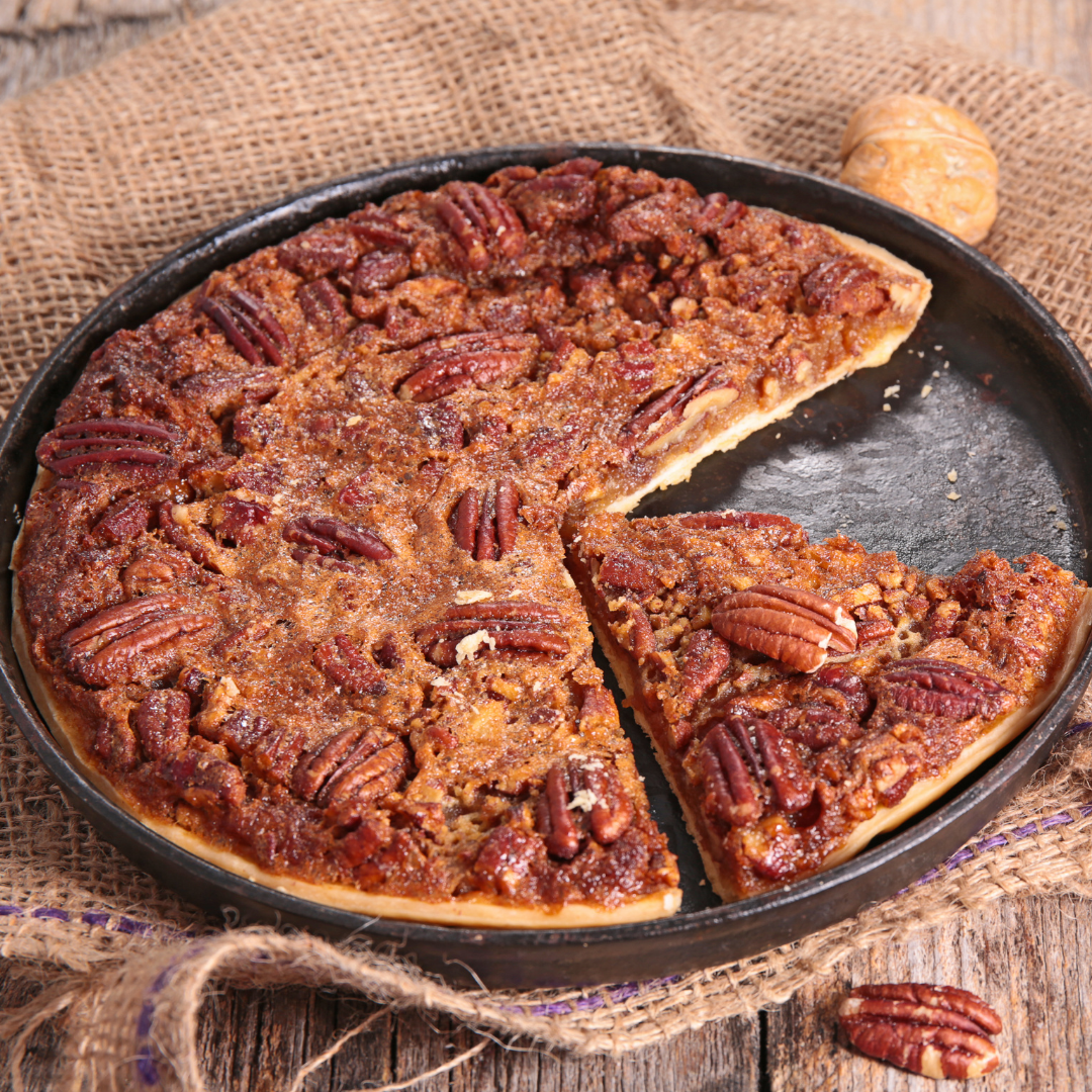 Pecan Pie With Olive Oil Crust