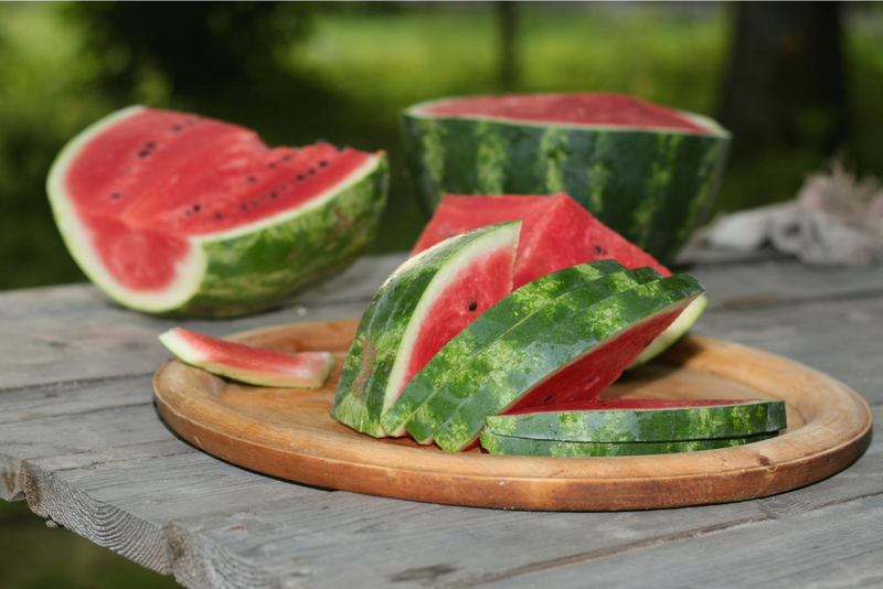How to Slice a Watermelon in Just 1 Minute!