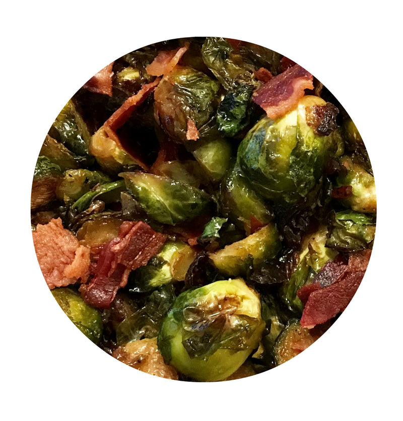 Hot Pepper Bacon Brussel Sprouts