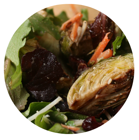 Roasted Brussel Sprouts Salad