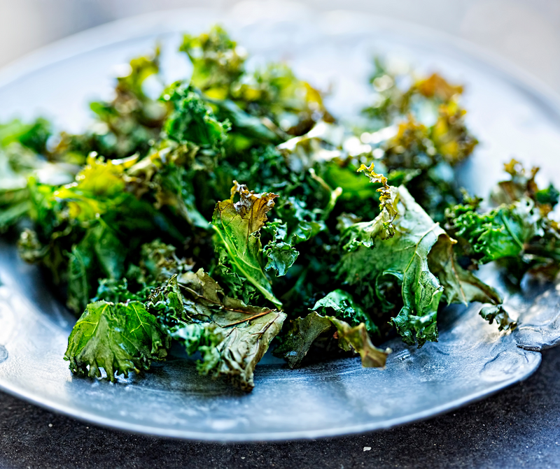 Garlic & Sea Salt Kale Chips