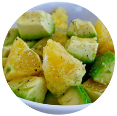 Greek Avocado and Orange Salad