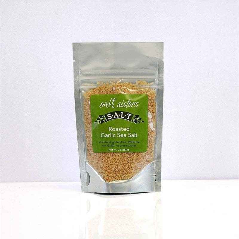 s.a.l.t. sisters - Roasted Garlic Sea Salt, Herb Mixes & Salts, s.a.l.t. sisters - Olive & Basket