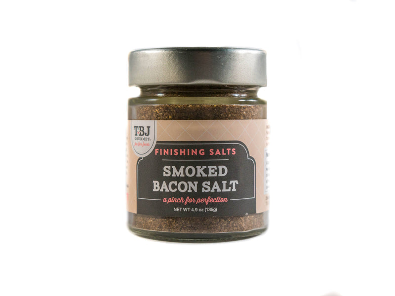 Smoked Bacon Salt Blend  TBJ Gourmet Herb Mixes & Salts Olive & Basket