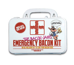 Emergency Bacon Kit  TBJ Gourmet Appetizers & Toppings Olive & Basket