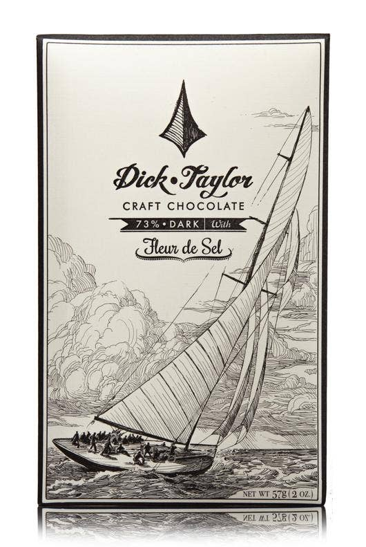 Fleur De Sel Chocolate Bar  Dick Taylor Craft Chocolate Sweets & Desserts Olive & Basket
