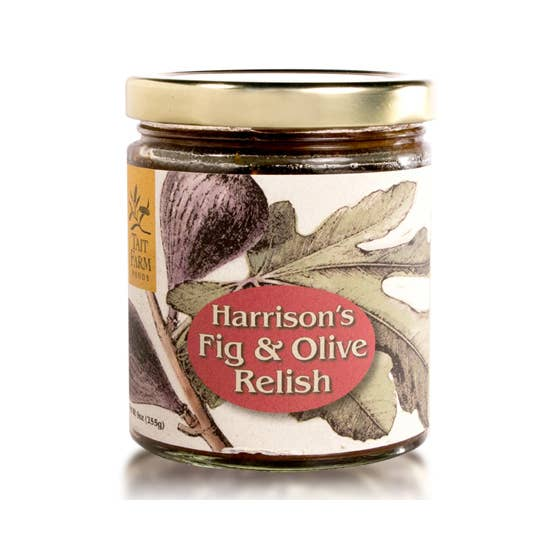 Fig & Olive Relish- Tait Farm Foods 9oz