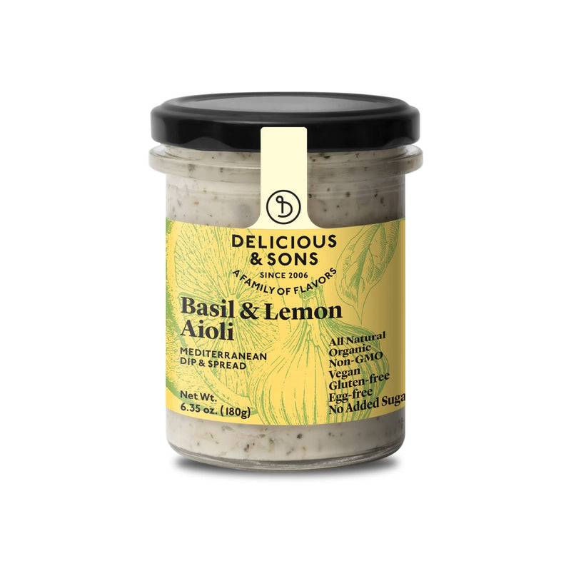 Organic Artichoke Spread- Delicious & Sons  Delicious & Sons Appetizers & Toppings Olive & Basket