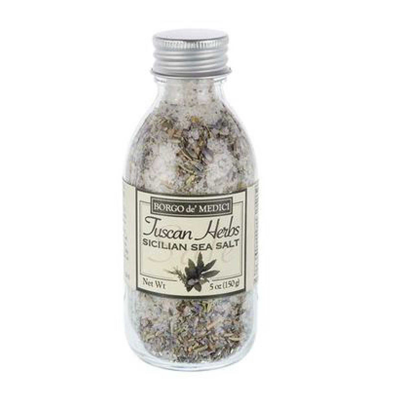Tuscan Herb Sea Salt  Borgo de Medici Herb Mixes & Salts Olive & Basket
