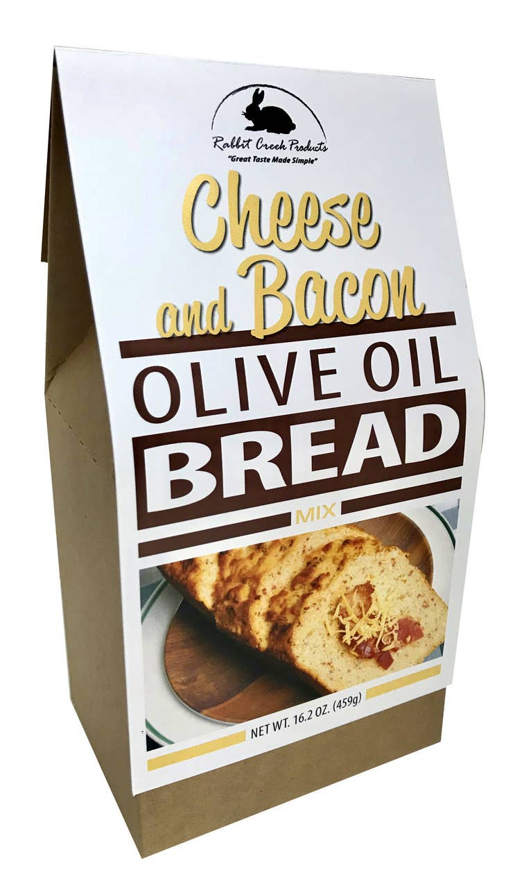 Olive Oil Bread- Cheese and Bacon Olive Oil Bread Mix