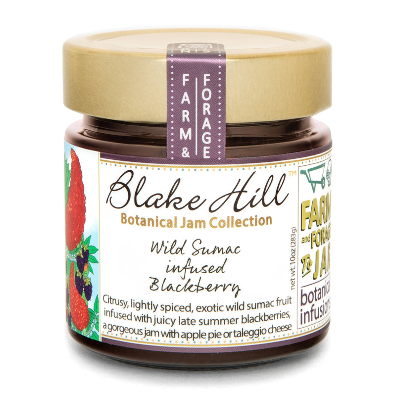 Wild Sumac infused Blackberry- Blake Hill Preserves