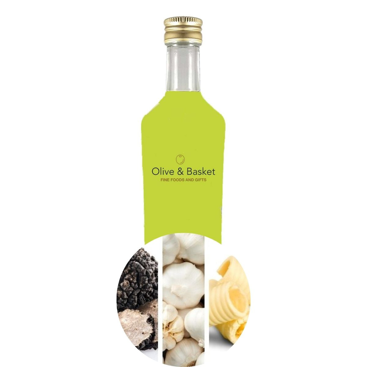 Black Truffle, Garlic, and Butter Extra Virgin Olive Oil- Bestseller