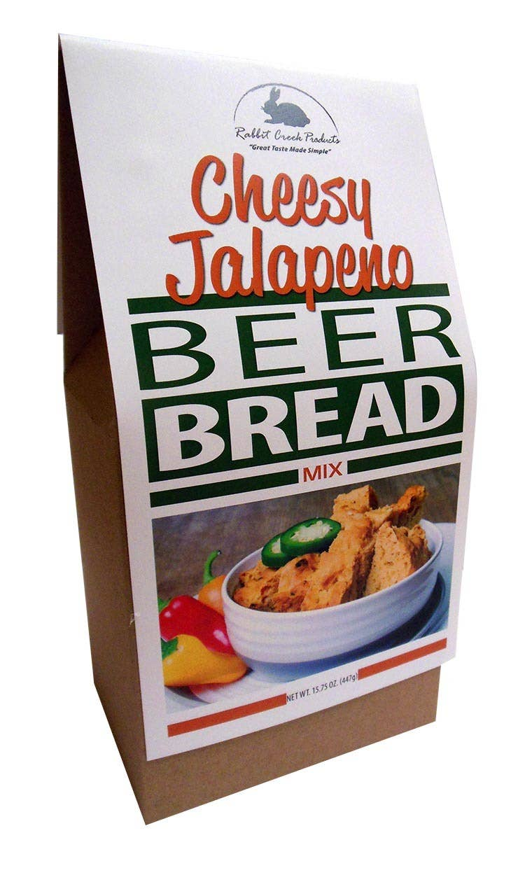 Beer Bread-Cheesy Jalapeno Beer Bread Mix