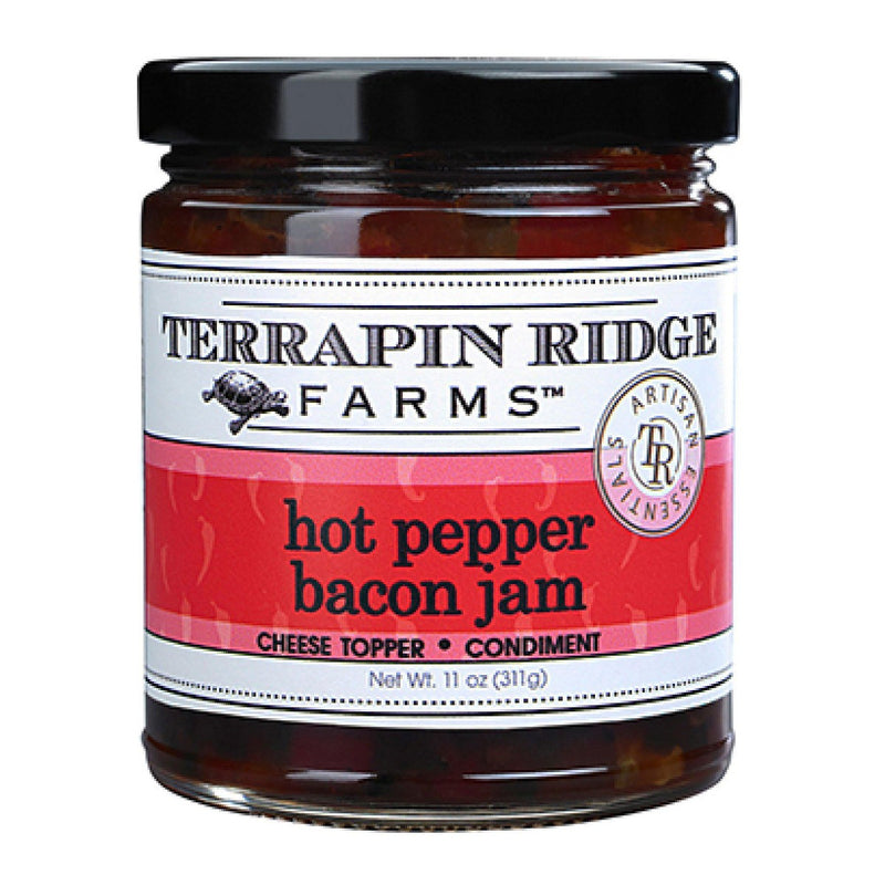 Hot Pepper Bacon Jam  TR Sauces & Dips Olive & Basket