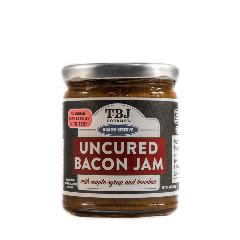 Maple Bourbon Uncured Bacon Jam