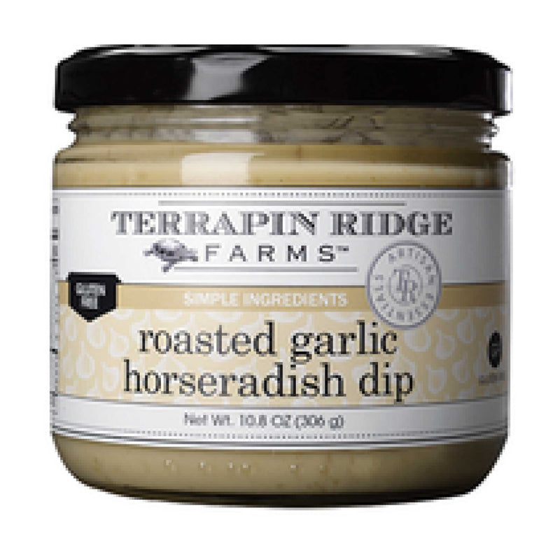 Roasted Garlic Horseradish Dip  TR Sauces & Dips Olive & Basket
