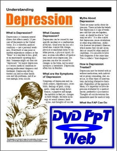 X002 - Understanding and Treating Depression Illness PowerPoint, DVD, Video, Web - HandoutsPlus.com