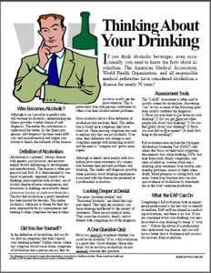 E012 Thinking About Your Drinking Health and Wellness Tip Sheet - HandoutsPlus.com