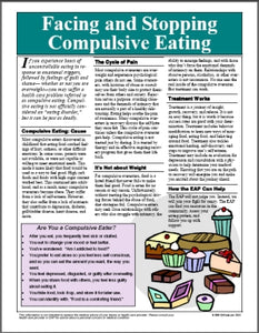 E023 Facing and Stopping Compulsive Eating - HandoutsPlus.com