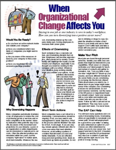 E027 When Organizational Change Affects You - HandoutsPlus.com