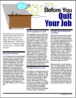 E049 Before You Quit Your Job - HandoutsPlus.com