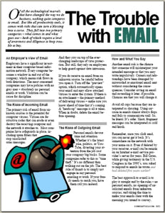 E072 The Trouble with EMAIL - HandoutsPlus.com