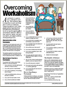 E074 Overcoming Workaholism - HandoutsPlus.com