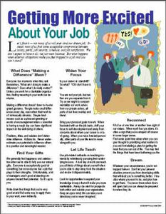 E080 Getting More Excited About Your Job - HandoutsPlus.com
