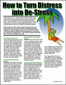 E081 How to Turn Stress into De-Stress - HandoutsPlus.com