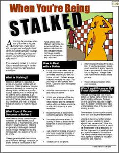 E091 When You're Being Stalked - HandoutsPlus.com