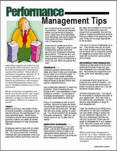 E096 Performance Management Tips - HandoutsPlus.com
