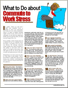 E105 What to Do About Commute-to-Work Stress - HandoutsPlus.com