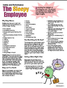 E111 - The Sleepy Employee - HandoutsPlus.com