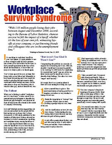 E120 - Workplace Survivor Syndrome - HandoutsPlus.com