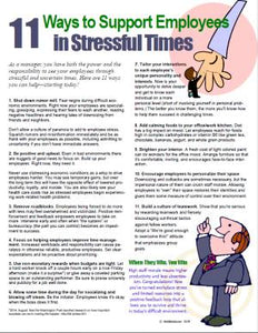 E136 11 Ways to Support Employees in Stressful Times - HandoutsPlus.com