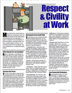 E140 Respect in the Workplace and Civility Awareness - HandoutsPlus.com
