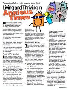 E143 Living and Thriving in Anxious Times - HandoutsPlus.com