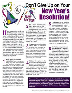 E154 - Don't Give Up on Your New Year's Resolution! - HandoutsPlus.com