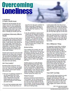 E160 Overcoming Loneliness - HandoutsPlus.com