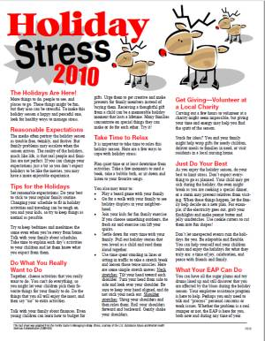 E124 Holiday Stress 2020 (Change the Date!) - HandoutsPlus.com