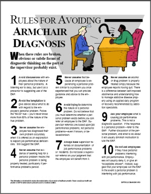 S177V Avoiding Armchair Diagnosis - HandoutsPlus.com