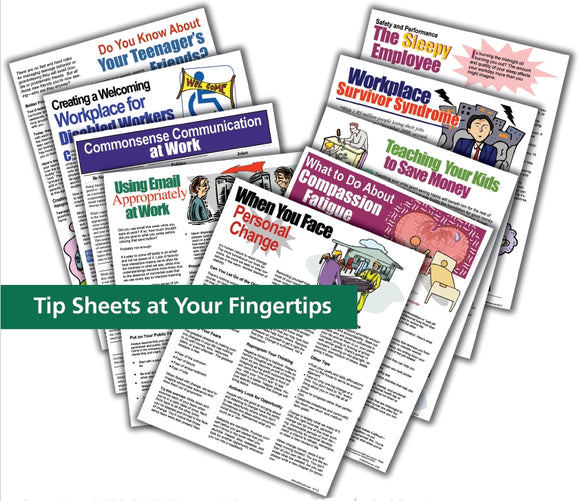E000 Buy All Workplace Wellness Tip Sheets - HandoutsPlus.com