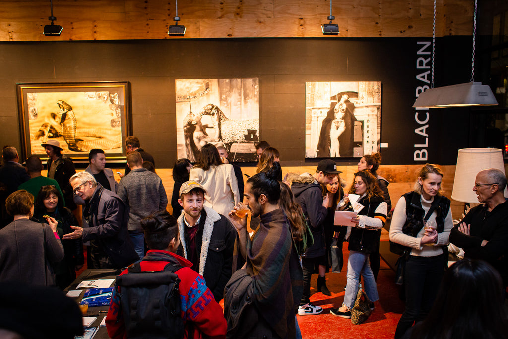 'BlackBook Presents' Gallery Opening in Brooklyn Pulls the Art World Crowd to DUMBO